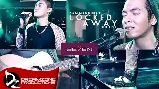 Locked Away - Sam Mangubat & Jun Sisa (Acoustic Cover)