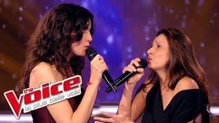 The Voice 2015│Battista Acquaviva VS Rany - Hijo de la Luna (Mecano)│Battle