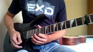 Avenged Sevenfold - Danger Line Guitar Solo Cover (Augusto Figueredo)
