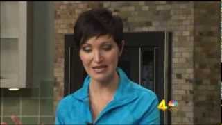 Rachel Holder Juicing on More at Midday Channel 4 WSMV