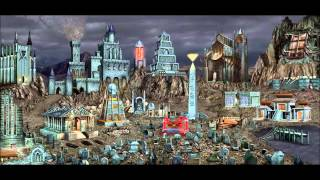 Heroes of Might & Magic III HD Edition Necropolis Town Theme (2014, Ubisoft) 1080p Animated