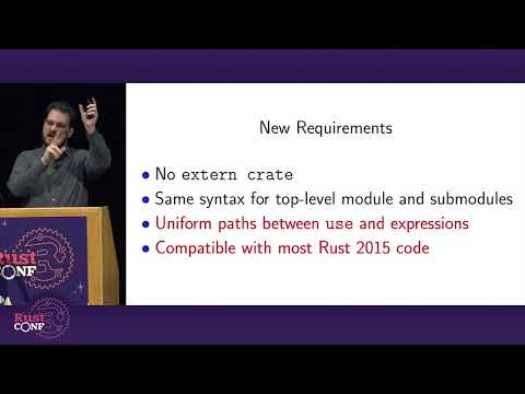 The Rust 2018 Module System