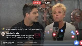 Xuxa contando tudo agora na live... Corre gente!