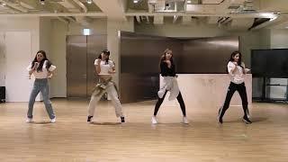 [mirrored] SEULGI x SINB x CHUNGHA x SOYEON - WOW THING Dance Practice