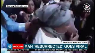 A video of a pastor claiming to raise a man from the dead has gone viral on social media.