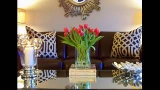 Rangkaian Bunga Meja Tamu Inspiratif Mempercantik Ruangan width=