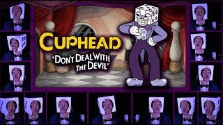 "CUPHEAD ""Die House"" Acapella Cover (Mr. King Dice Main Theme) w/ LYRICS"
