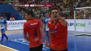 Gols Foz Cataratas 1 x 1 Carlos Barbosa - Quartas de Final Jogo 1 Liga Nacional de Futsal 2017