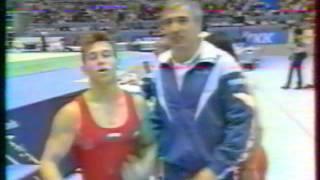 Ivan IVANOV (BUL) floor - 1995 Sabae worlds EF
