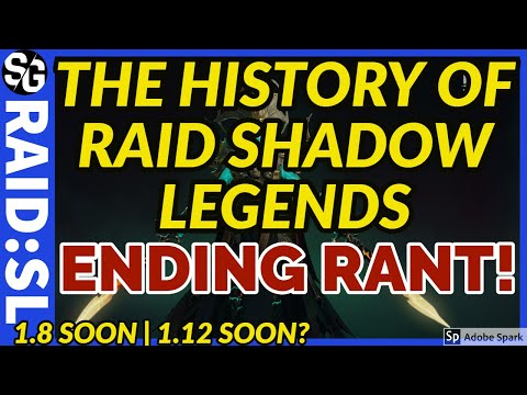 RAID SHADOW LEGENDS | RANT | HISTORY OF RAID SHADOW LEGENDS