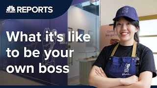 She quit her tech job to be her own boss | CNBC Reports