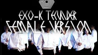(Female Ver.) EXO-K - Thunder