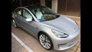 Tesla Performance Model 3 Home Delivery & 4,400 Mile Road Trip Minutes Later