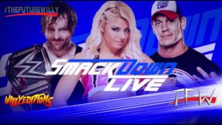 WWE | Smackdown Live | Take A Chance | Theme Song | AE + Arena Effects 2016 | SD Live