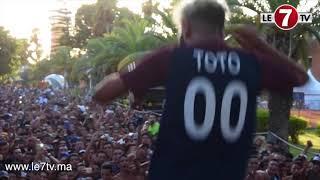 Toto sur scène en direct du Boulevard 2017