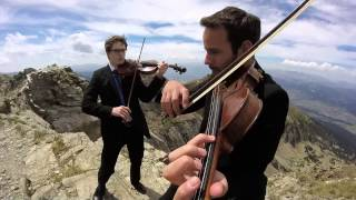Mission : Impossible for 007 - 2 Violins cover - Bad Bows