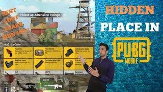 Best Loot For PUBG Hidden Place In Erangel Map Flare Gun Confirm