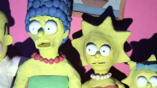The Simpsons Intro Scary
