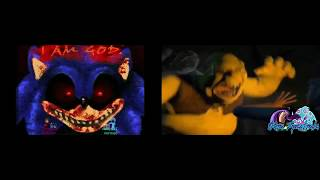 [Sparta Twoparisson] [Shrek Jumpscare Ft. Sonic EXE Jumpscare] Sparta Extended Remix