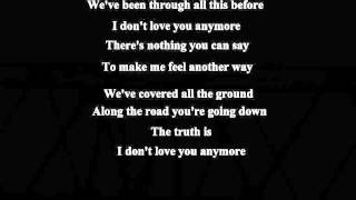 I Don't Love You Anymore (New Version)