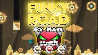 Geometry Dash [2.0] (Demon) - Funky Road by Mazl | GuitarHeroStyles