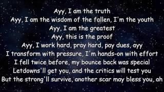The Greatest - Sia ft. Kendrick Lamar [LYRICS]