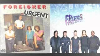 Foreigner Vs. Maroon 5 - Urgent Payphone (Nuky's Mashup)