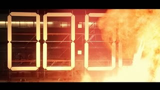 Countdown Timer - Big Explosion ( v 504 ) 10 sec with sound effects 4k