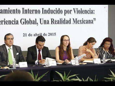 """PRESENTACIÓN DE LIBRO: """"DESPLAZAMIENTO INTERNO INDUCIDO POR LA VIOLENCIA"""""""