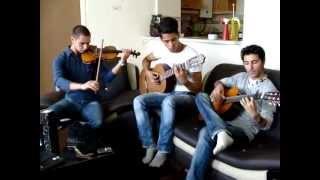duets violin and guitar in d major