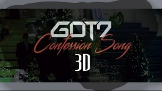 GOT7 - CONFESSION SONG 3D Version (Headphone Needed)