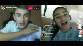 Johnny Orlando & Andrea Brillantes