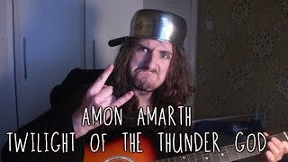 Amon Amarth - Twilight of the Thunder God (Acoustic Cover) | Aaron Hastings
