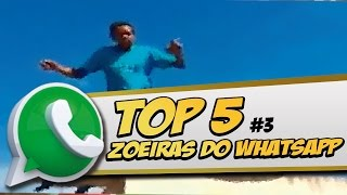 TOP 5 DO WHATSAPP #3 | NARRADOR DE VIDEOS | VIDEOS ENGRAÇADOS