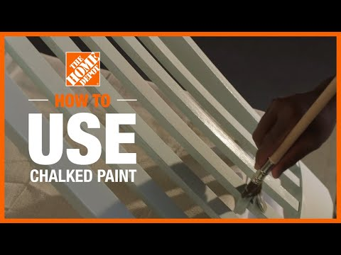 How to Use Chalked Paint