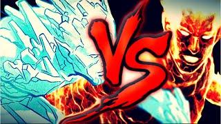 Tocha Humana VS. Homen de gelo (X-men) | FT . IlusionBrothers