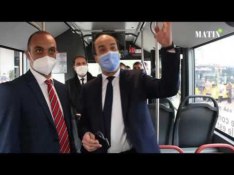 Video : Casablanca : coup d'envoi de la mise en exploitation de la nouvelle flotte de bus