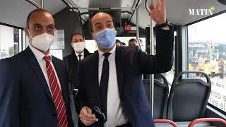 Casablanca : coup d'envoi de la mise en exploitation de la nouvelle flotte de bus