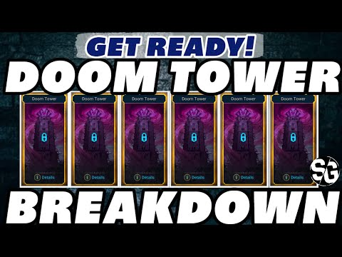 DOOM TOWER ALL I KNOW! RAID SHADOW LEGENDS VOID TOWER DOOM TOWER UPDATE 2.3