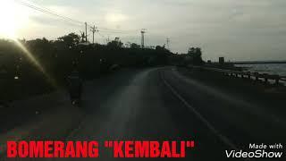 BOMERANG kembali suasana jalan Pantura Lasem rembang
