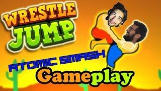 أقوى لعبة في العالم 2 _ Wrestle Jump