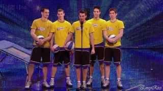 Face Team - Basketball Stunt Team @ Britain's Got Talent 2012 Auditions