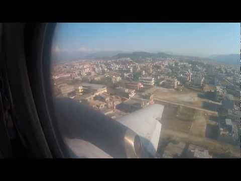 Pokhara Airport Nepal – Final approach and landing