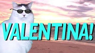 HAPPY BIRTHDAY VALENTINA! - EPIC CAT Happy Birthday Song