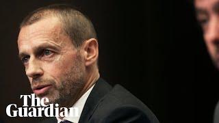 Uefa president calls Solveig an 'idiot' over Ballon d'Or twerk comment