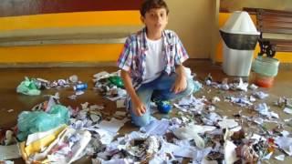 Reciclando todo lixo - Paródia AQUELE 1% (COVER Rawinisson Martins)