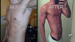 Amazing 6 Pack Ab Transformation - All About a Clean Diet!  PROOF!