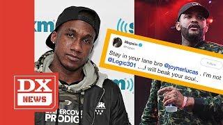 """Hopsin Disses Joyner Lucas And Logic In One Tweet: """"I Will Break Your Soul"""" In A Rap Battle"""