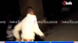 Raipur me Janta ke sath police bhi peeti he