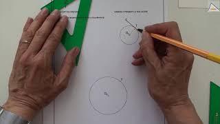 Imagen en miniatura para Recta tangente a una circunferencia dado el punto de tangencia sobre la circunferencia